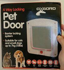 4 way locking pet door