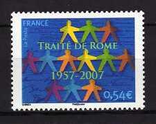 France o TG 2007 Y&T 4030 Cinquantenaire du traité de Rome Neuf ( MNH )