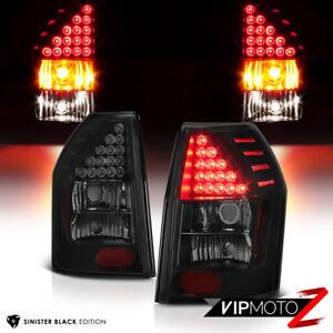 "2005-2008 Dodge Magnum ""DARKEST Black Smoke"" LED Parking Tail Lights Lamp Signal"