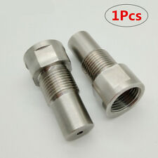 1x Stainless Steel M18*1.5 O2 Oxygen Sensor Extension Spacer Extender Adapter