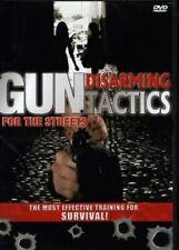 GUN DISARMING TACTICS FOR THE STREETS MARTIAL ARTS DVD SELF DEFENSE INSTRUCTION