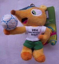 Orig.Maskottchen  WM BRASILIEN 2014 - FULECO // 13 cm - mit Etikett  !!  SELTEN