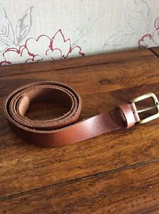 New Ex Urban Outfitters Brown Leather Belt - Large