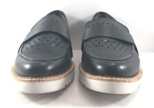 Halogen By Nordstrom Black Leather Emily Moccasins Womens Size US 9.5M