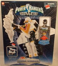 "Power Rangers In Space - Deluxe Mega Winger Megazord With 8"" Silver Ranger (MIB)"
