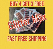 Color Nail Polish Strips Glitter/Pearl Max Buy 4 Get 3 Free