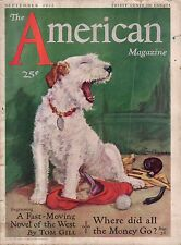 1932 American September - Terrier; Scattergood; Kathleen Norris; Tom Gill; Gags