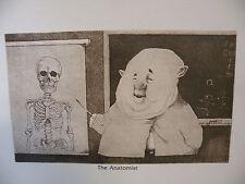 "Art print Charles Bragg artist black Lithograph ""the anatomist"" Duotone Signed"