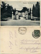 Mogliano, Treviso, villa Stucky, buono stato viaggiata 1917