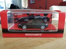 Minichamps Porsche Boxster S 2002  FULDA promo Matt Black Mint Boxed