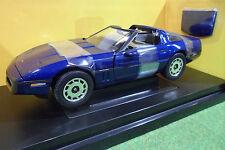 CHEVROLET CORVETTE COUPE 1985 cabriolet 1/18 AMERICAN MUSCLE ERTL 33469 voiture