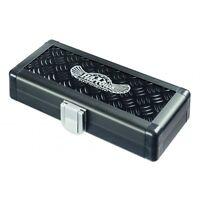 HARROWS BLACK BOX DARTS CASE BLACK ALUMINIUM TOUGH