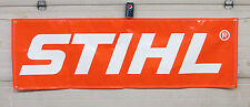 "STIHL LOGO 22"" x 72"" BANNER - HEAVY DUTY - FAST SHIPPING!! INDOOR/OUTDOOR"