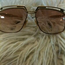 EXTREMELY RARE VINTAGE AUTHENTIC CAZAL GOLD FRAME SUNGLASSES MADE IN GERMANY