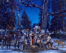 """""""Ranger Farewell"""" John Paul Strain Civil War Print - John Singleton Mosby"""