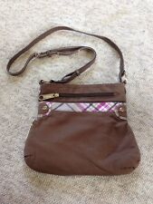 Perfect Little Bag/ Brown Cotton By Thirty One