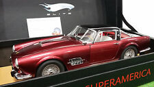 FERRARI 410 SUPERAMERICA bordeaux 1/18 SUPER ELITE HOT WHEELS MATTEL N2082 voitu
