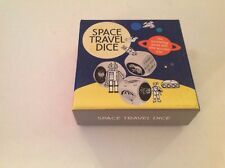 Space Travel Dice 2014 Storytelling Game Wooden Wood Magma Laurence King Box