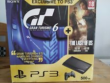 PS3 500gb Super Slim Console, Boxed, Factory Reset, Controller, Games, Cables