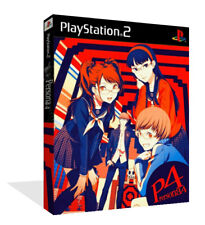 - Persona 4 Replacement Spare Game Case Box + Cover Art Only
