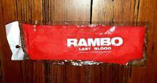RARE RAMBO LAST BLOOD MOVIE PROMO RED HEADBAND - STALLONE FIRST BLOOD 2 COSTUME