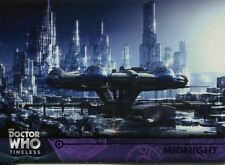 Doctor Who Timeless Purple Parallel [##/50] Base Card #64 Midnight