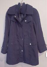 Ladies Fleet Street Winter Extremely Warm Navy Coat - Size M
