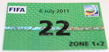 Ticket pass for collectors Women's World Cup 2011 North Korea Colombia Bochum 22