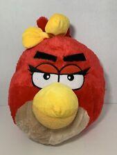 Angry Birds red girl yellow bow plush backpack bag Rovio Entertainment stuffed
