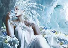 SCHMIDT JIGSAW PUZZLE ICE FAIRY MARTA DAHLIG FANTASY 1000 PCS #58166