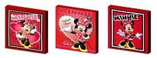 MINNIE MOUSE RED  CANVAS ART BLOCKS/ WALL ART PLAQUES/PICTURES
