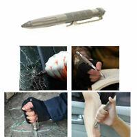 Nuovo Se stesso Difesa Tattico Penna aviazione Alluminio Emergenza Strumento