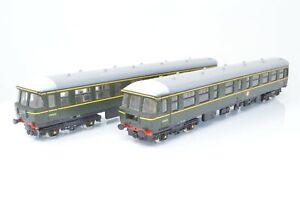 Trix OO Gauge - 2 Car Transpennine DMU BR Green - Boxed