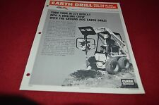 Bobcat M-371 Skid Loader Earth Drill Attachment Dealers Brochure DCPA2