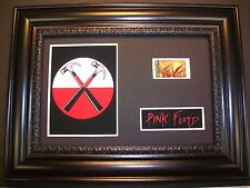 PINK FLOYD Framed Movie Film Cell Memorabilia - Compliments poster hammers