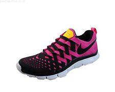 Nike Free Trainer 5.0 Mens Size 12 (579805-607)  BLACK/VIVID PINK