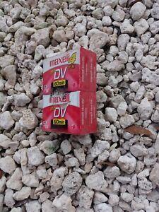 Mini Maxell DV Digital Video Cassette 60 min ~ New, Sealed Qty 4 Made in Japan