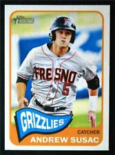 2014 Topps Heritage Minors #3 Andrew Susac - NM-MT