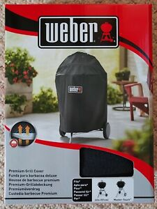Weber 7143 Premium 57cm master touch BBQ Cover NEW AND BOXED