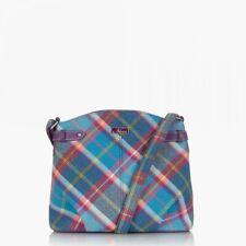 Ness Wilma Tweed Cross-Body Women Bag - Fresh Bluebell Check