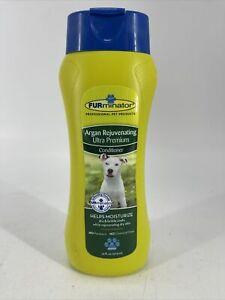 RARE FURminator Argan Rejuvenating Ultra Premium Conditioner for Dog 16 oz NEW