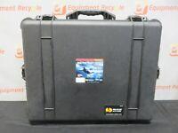 Pelican 1610 Watertight Foam Wheels Case Padded Dividers Waterproof