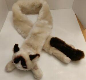 Gund 52 inch Extra Soft and Silky Grumpy Cat Plush Stuffed Animal Novelty Scarf