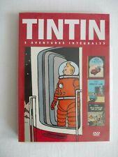 DVD Tintin/Au pays de l'or noir / Objectif Lune / On a marché sur la lune / 2009