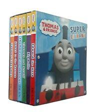 Thomas Tank Engine 6 Book Box Set Kids Young Children Nursery Mini Board New