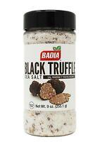 Badia Black Truffle Sea Salt, 9 oz