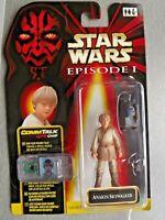 STAR WARS EPISODE 1 Figure CommTech Chip Carded Anakin Skywalker