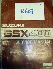 Original Suzuki GSX 400 80-90 Werkstattbuch Wartungsanleitung service manual