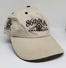 RARE 2004 86th PGA Championship Whistling Straits Hat w/ Pin~ Adjustable