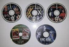 Lot Of 5 Disc 9 Horror/sci-fi/fantasy Dvd Movie's King Kong Doctor X Disc only